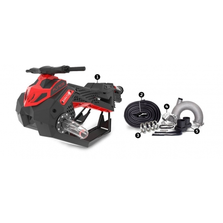 FLYRIDE WITH DUAL SWIVEL SYSTEMFLYRIDE WITH DUAL SWIVEL SYSTEM
